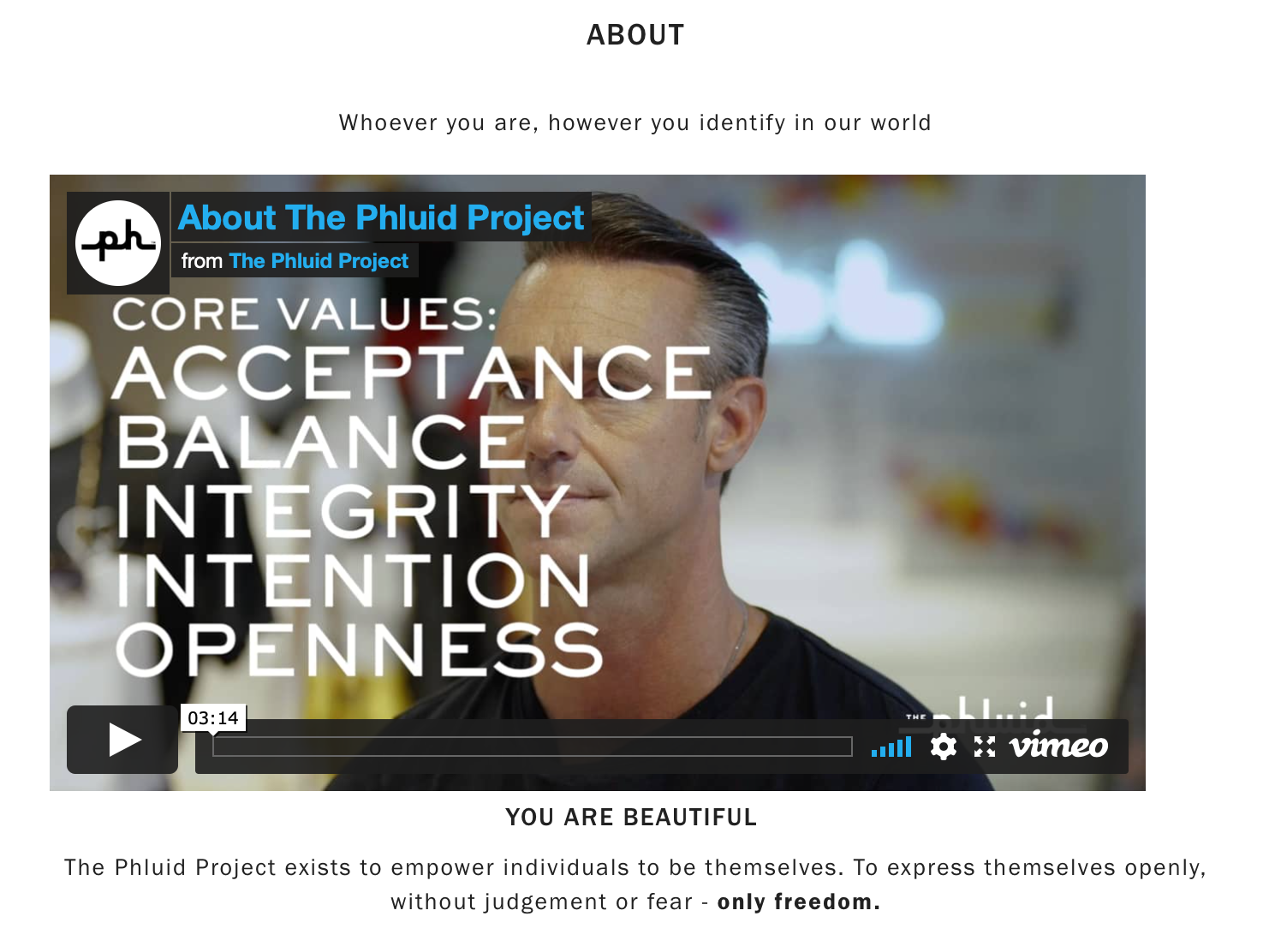 Phluid Project Core Values Video